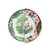 "Seletti Hybrid Ipazia 10.8"" Porcelain Dinner Plate"