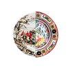 """Seletti Hybrid Eusafia 10.8"""" Porcelain Dinner Plate"""
