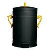 Seletti Trash-Chic 4.7-Gal. Metal Trash Can