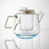 Seletti Era Glass and Porcelain Teapot