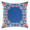 Teen Vogue Rosie Posie Decorative Cotton Throw Pillow