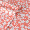 Teen Vogue 100% Cotton Dancing Daisies Flannel Sheet Set