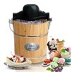 Elite by Maxi-Matic Gourmet 6 Qt. Old Fashioned Ice Cream Maker