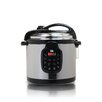 Elite by Maxi-Matic Platinum 6 Qt. Electric Stainless Steel Pressure Cooker with Stainless Steel Pot