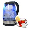 Elite by Maxi-Matic Platinum 1.8-qt. Cordless Glass Electric Tea Kettle