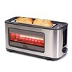 Elite by Maxi-Matic 2 Slice Toaster with See Through Glass Window