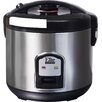 Elite by Maxi-Matic Platinum 20 Cup Stainless Steel Rice Cooker