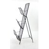 Teton Home Metal Magazine Rack (Set of 4)