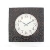 Teton Home Metal Wall Clock (Set of 8)