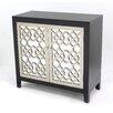 Teton Home 2 Door Wood Cabinet