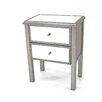 Teton Home 2 Drawer Wood Cabinet