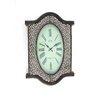 Teton Home Metal and Wood Wall Clock (Set of 4)