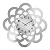 All Home Oversized 60cm Sunflower Mirrored Wall Clock