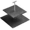 Premier Housewares 23cm 2 Tier Slate Cake Stand