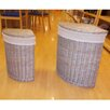 All Home Mesa 2 Piece Laundry Basket Set