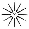 All Home 58cm Sunburst Wall Clock