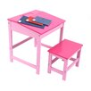 All Home Childrens Desk and Stool Set