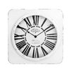 All Home 38cm Antique Square Wall Clock