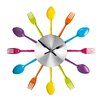 All Home 37cm Cutlery Wall Clock