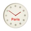 All Home 36cm Paris Wall Clock