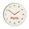 All Home Wanduhr Paris 36 cm