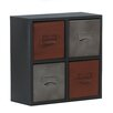 Premier Housewares York Wall Cabinet