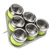 Premier Housewares 6-Piece Spice Tin Set
