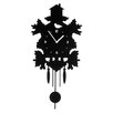 Premier Housewares Pendulum Analogue Wall Clock