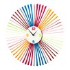 Premier Housewares 58cm Analogue Wall Clock
