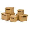 Premier Housewares 5-Piece Storage Box Set