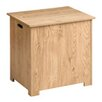 All Home Rhyla Wooden Blanket Box