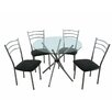 Premier Housewares Dining Table and 4 Chairs