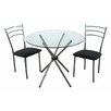 Premier Housewares Dining Table and 2 Chairs