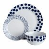 Premier Housewares Spots 12 Piece Dinnerware Set