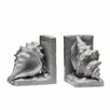 Premier Housewares Conch Bookends (Set of 2)