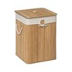 Premier Housewares Kankyo Square Laundry Hamper with Lid