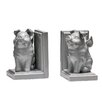 Premier Housewares Flying Pig Bookends (Set of 2)