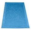 Premier Housewares Hand-Tufted Blue Area Rug