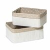 Premier Housewares Kankyo 2 Piece Storage Box Set