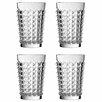 Premier Housewares Pyramid 330ml Hi Ball Glasses (Set of 4)