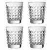 Premier Housewares Pyramid 330ml Tumbler (Set of 4)