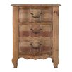 Vical Home 3 Drawers Bedside Table