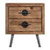 Vical Home 2 Drawer Bedside Table