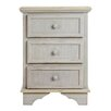 Vical Home 3 Drawer Bedside Table