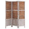 Vical Home 170cm x 125cm Biombo 3 Panel Room Divider