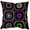 We Love Cushions Sofakissen Blue Retro