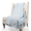 Little Giraffe Chenille Solid Fabric Throw