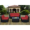 Ohana Depot 5 Piece Deep Seating Group with Cushion