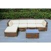 Ohana Depot 6 Piece Deep Seating Group with Cushion