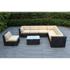 Ohana Depot 8 Piece Seating Group with Cushions